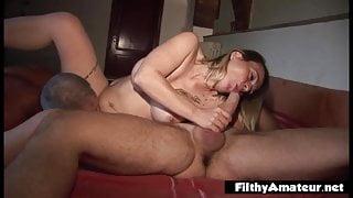 Francesca, an expert bitch with new friend