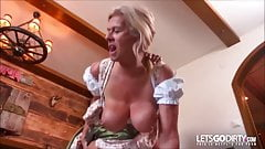 Mature German with big tits