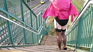 In the pink on a bridge part 2