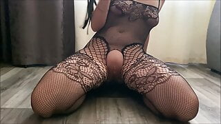 Slutty wife Ardentina whips her sweet pussy and cums hard