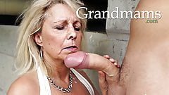 Grandmas just love young cocks