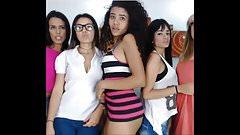Latina Lesbian Cam Sluts-Part 2 (Dancing 1 of 2)