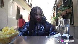 Blowing cocks around the city! A dare for Monica Neni