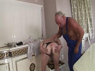 Old ass fuck - Craftsman fucks grandmas old ass