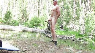 DADDY SHOWING OFF HIS COCK 7