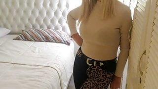 Hot Saturday – my wife sucking my cock