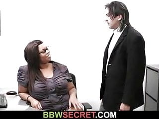 Ebony boss fucking Married boss bangs fat ebony secretary