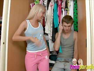 Trouble with teen Deluxe skinny teen trouble fuck with close holes 28