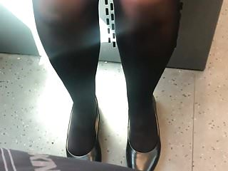 Nudes and mini coopers German milf sexy black tights and mini skirt very hot