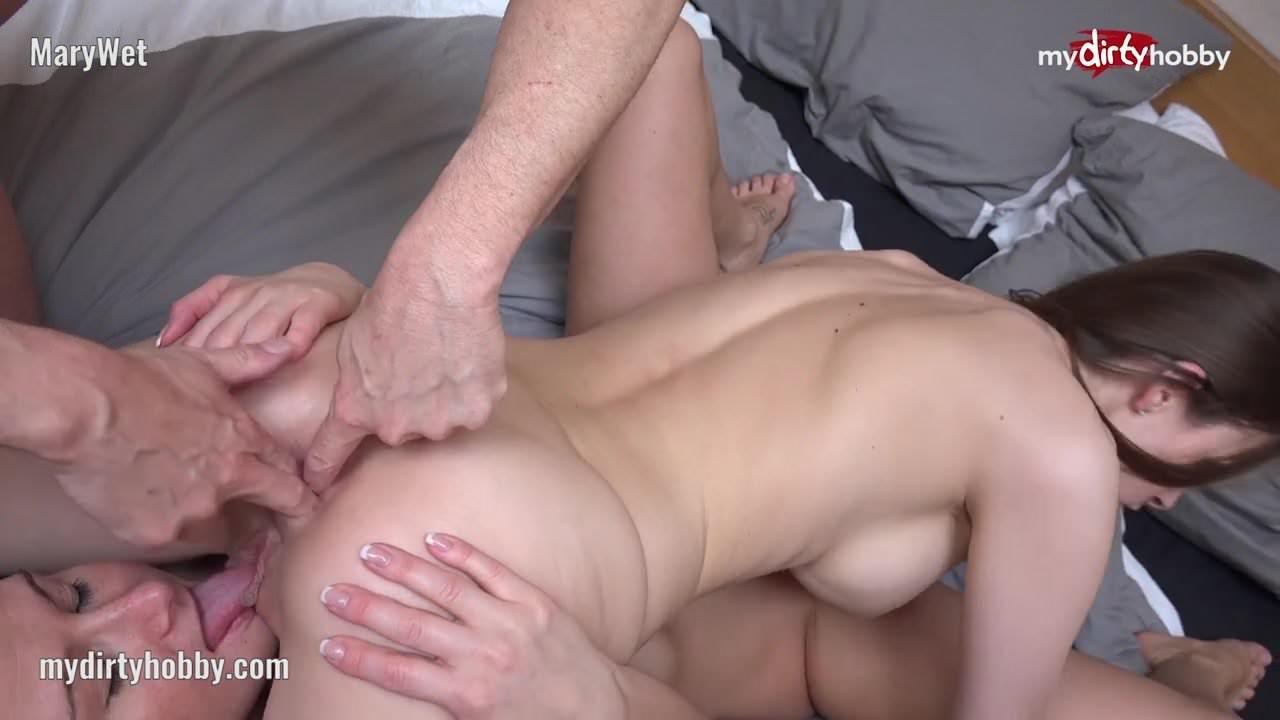 Dirty Talk Anal Threesome