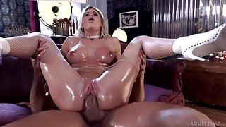 ADULT TIME Jessa Rhodes Hard & Hot Gonzo Fuck- FULL SCENE