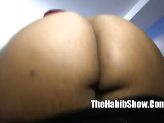 Hairy layla - Thick phat redbone layla red taking hairy paki dick
