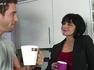Uk mature pictures - Uk mature mom fucks her sons friend