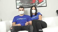 La pareja cachonda no teme al coronavirus