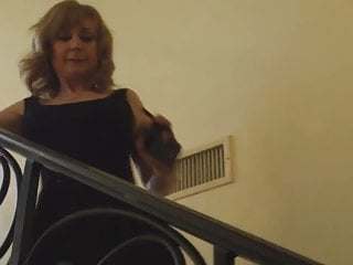 Old pornstar - Nina hartley on a date with young boy