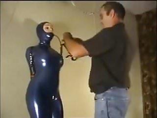 Bondage fucking machine video Hogtied for the fucking machine
