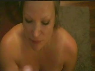 Grat basket gay - Nasty wife jerks a facial by the laundry basket.