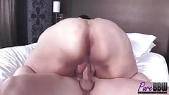 Hot ssbbw brunette whore get fucked