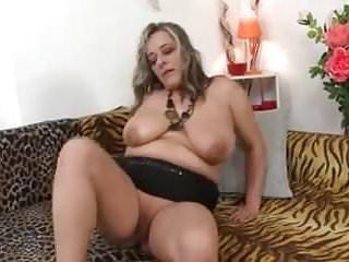 Fat old tits Fat old chick plays with her tits and pussy