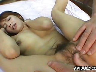 Very hairy japanese - Very cute asian sluts gets dildo masturbated