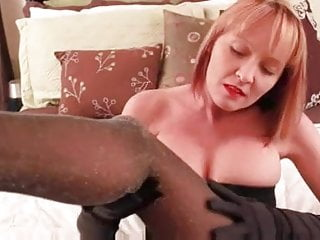 Wife pantyhose bang Sexy mature in pantyhose banging youngster