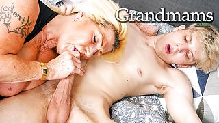 Granny's Acting like a Slut Again!