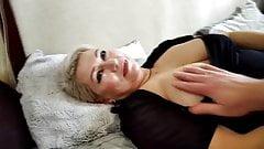 Mature Russian wife-cocksucker demonstrates her fucking art!