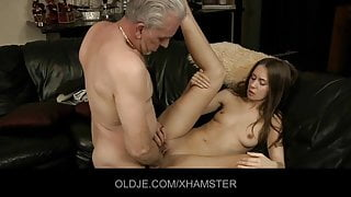 Old cock experiences young asshole