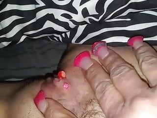 Healing time on vagina piercing - Little rub time alone