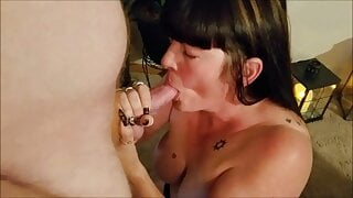 Neighbors Stepson Sneaks Over for Some Taboo Sex with Aunt Lucy