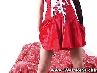 Mrs sucks cok - Mrs santa loves to suck strangers