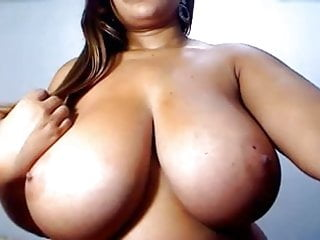 Bbw sex huge breasts Huge breasts on this pussy bearing latina
