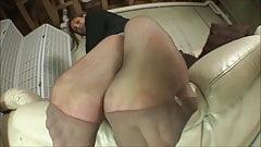 Sabrina Grey reverse Nylon sole
