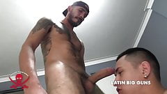 Raging Latin hard-on cocked and ready to bust