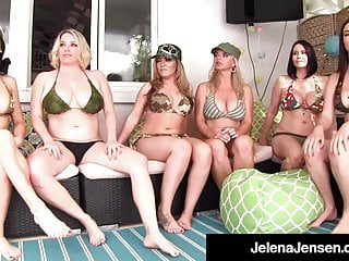 Orgy with smoking - Penthouse pet jelena jensen has smoking hot 6 girl orgy
