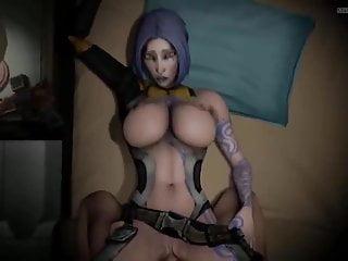 Horny hentai videos Horny borderlands girls