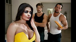 Aishwarya rai sex scene , hot, nude, cleavage, boobs