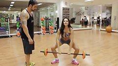 softcore babe workout