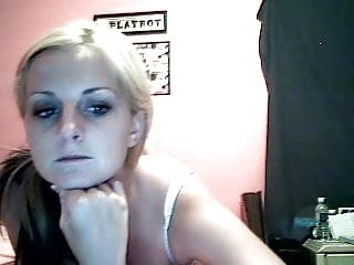 Ex girlfriend teens Sweet blonde teen ex girlfriend masturbating on cam