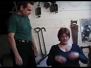 Radical tit torture - A bit more rusty big tit torture