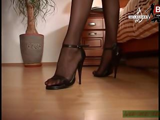 German heels fetish - German foot and high heels