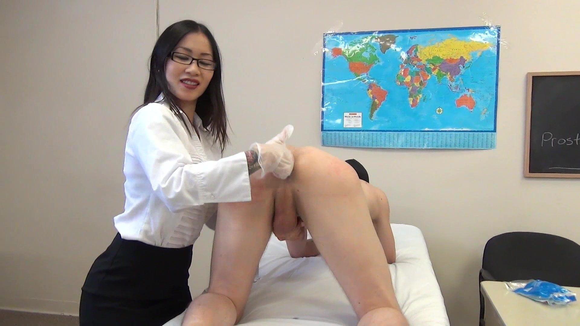 Prostate massage porn