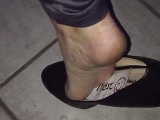 Celebrity sex rehab penny Lenas cum filled high heels....rehab, show, cumwalk and ass