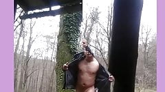 ich nackt