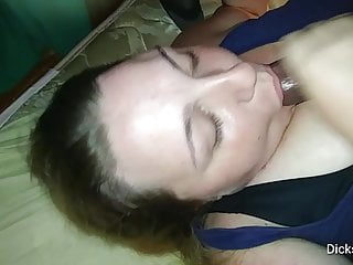 Dry and cracked skin shaft penis - Milf bbw sucks bbc dry and swallows cum load
