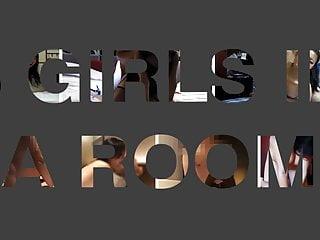 Asian girls scream 6 girls 1 screen, edited by stuart24, watch them scream