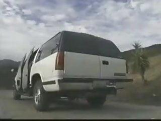 White girls gangbanged by black guys - Blonde hitchhiker gangbanged by white and black guys