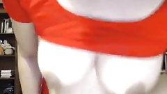 Beautiful Desi Sexy aunty nude on webcam