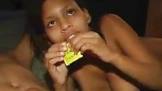 18 year old Dominican Pussy Fucked