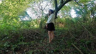 A Walk In The Woods With Stepdaddy Ends In Sex And Cum